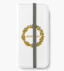 Autumn Fall  Wreath iPhone Wallet/Case/Skin
