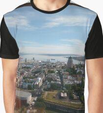 #Quebec, #Québec, #Canada, #province, #Ontario, #water, #JamesBay, #HudsonBay, #HudsonStrait, #UngavaBay, #GulfofSaintLawrence, #Newfoundland, #Labrador Graphic T-Shirt