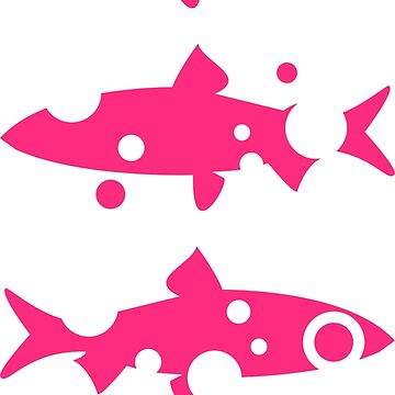 Bubbly Whitefish in pink by MaijaR