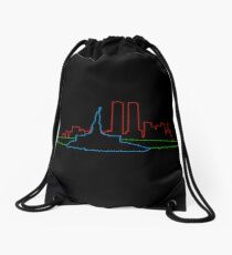 Escape from New York Drawstring Bag