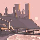 Reculver, The Isle of Thanet by Stephen Millership