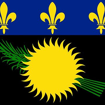 Flag of Guadeloupe by PZAndrews