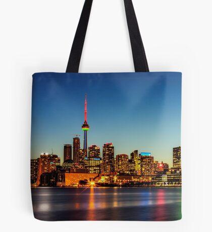 Toronto Skyline 3 Tote Bag