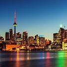 Toronto Skyline 3 by John Velocci