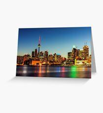 Toronto Skyline 3 Greeting Card