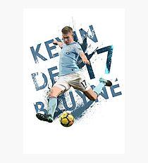 KDB - Kevin De Bruyne - Manchester City FC Photographic Print