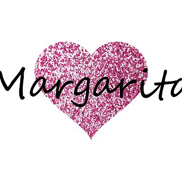 Margarita Pink Heart by Obercostyle