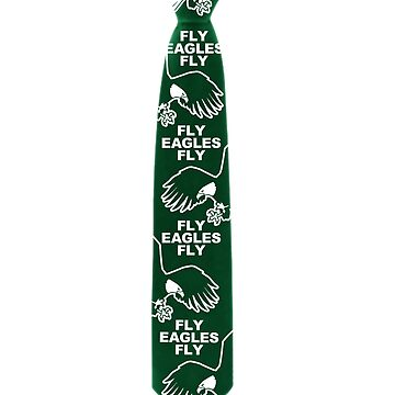 Fly Eagles Fly Tie by TeeCreations
