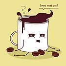 «Taza de café adicta al café» de EuGeniaArt