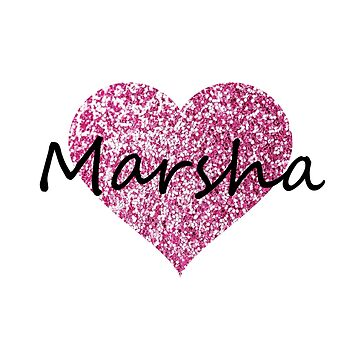 Marsha Pink Heart by Obercostyle