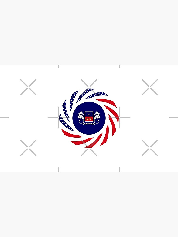 Mahorai American Multinational Patriot Flag Series by carbonfibreme