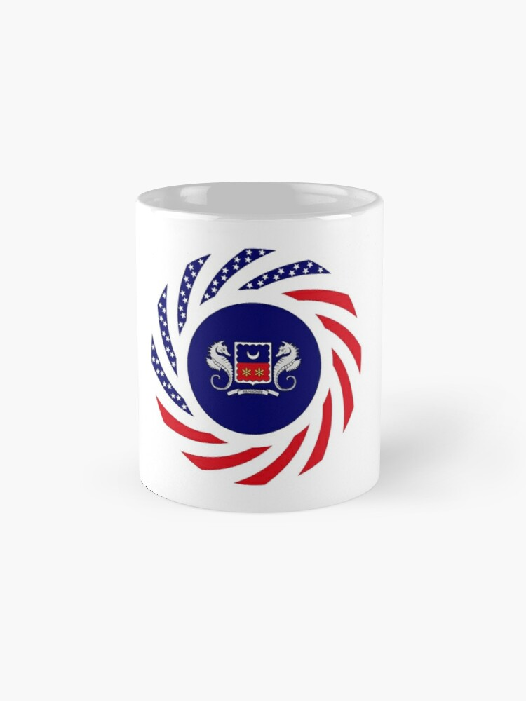 Alternate view of Mahorai American Multinational Patriot Flag Series Mug