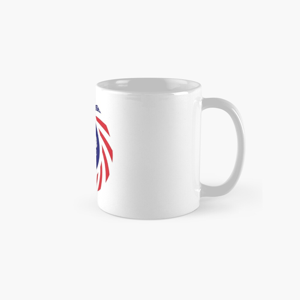 Mahorai American Multinational Patriot Flag Series Mug