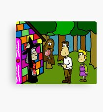 Han Solo and Gretel Canvas Print