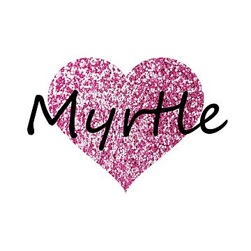 Myrtle Pink Heart by Obercostyle