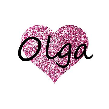 Olga Pink Heart by Obercostyle