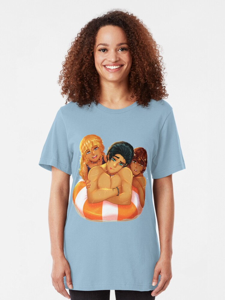 Percy, Annabeth and Grover   Slim Fit T-Shirt