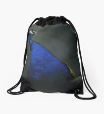 Peacock Drawstring Bag