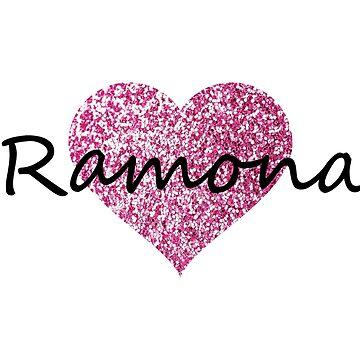 Ramona Pink Heart by Obercostyle