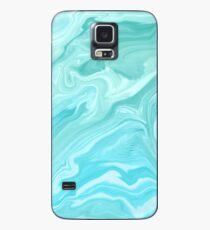 Blue Marble Pattern Case/Skin for Samsung Galaxy