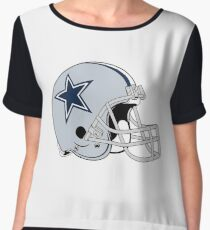 Dallas Cowboy - American Football Chiffon Top