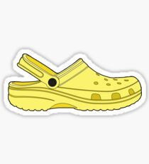 Cros Shoe Lemon Yellow Sticker