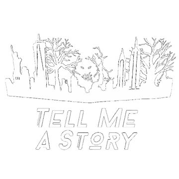 Tell Me A Story White  by kardish