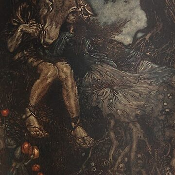 Midummer night's dream - Arthur Rackham illustration by Geekimpact