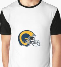 Los Angeles Rams - American Football Graphic T-Shirt