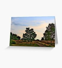 Heideweg Greeting Card