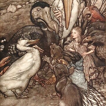 Alice in Wonderland scene - Arthur Rackham by Geekimpact