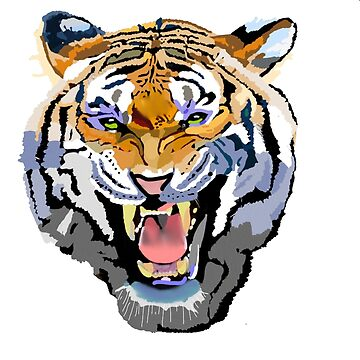 terrific tiger rotoscope by chateauteabag