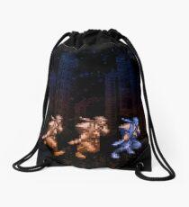 Ninja Shadows Drawstring Bag