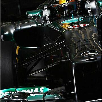 Lewis Hamilton by F1Dynamics