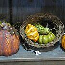 Gordes On My Shelf by Linda Miller Gesualdo