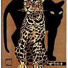 Vintage Munich Zoo Advertisement  by edsimoneit