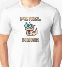 Pixel worm as a pixel graphic Unisex T-Shirt