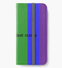 Love without reason iPhone Wallet/Case/Skin