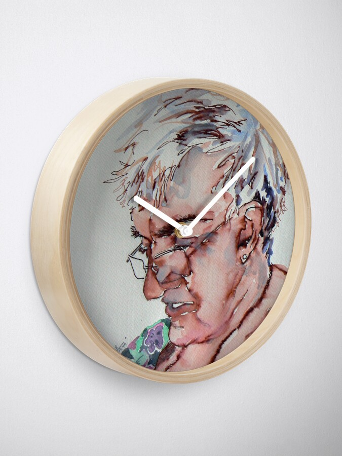 Alternate view of A gal named Jimmy Clock
