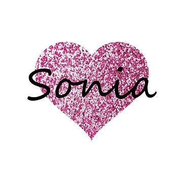Sonia Pink Heart by Obercostyle