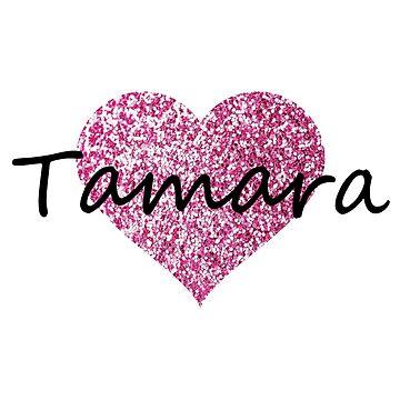 Tamara Pink Heart by Obercostyle