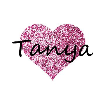 Tanya Pink Heart by Obercostyle