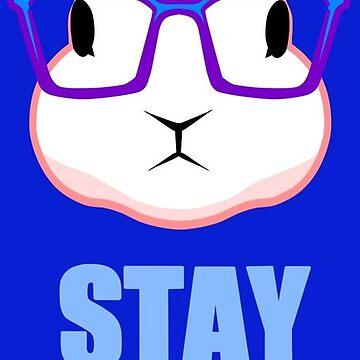 Stay Woke - Subtle Qanon White Rabbit by GreatAwakening
