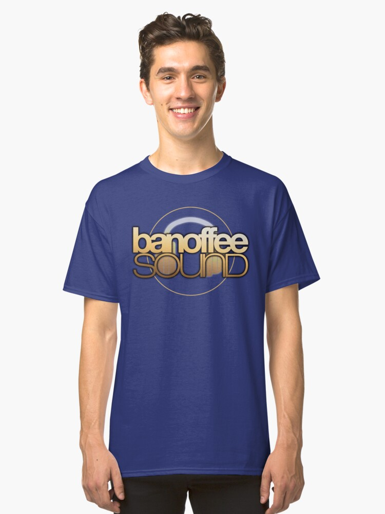 Banoffeesound Logo Classic T-Shirt Front