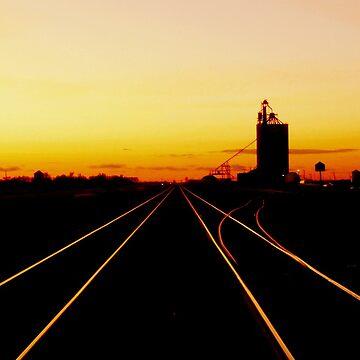 Diminishing Rails by umpa1