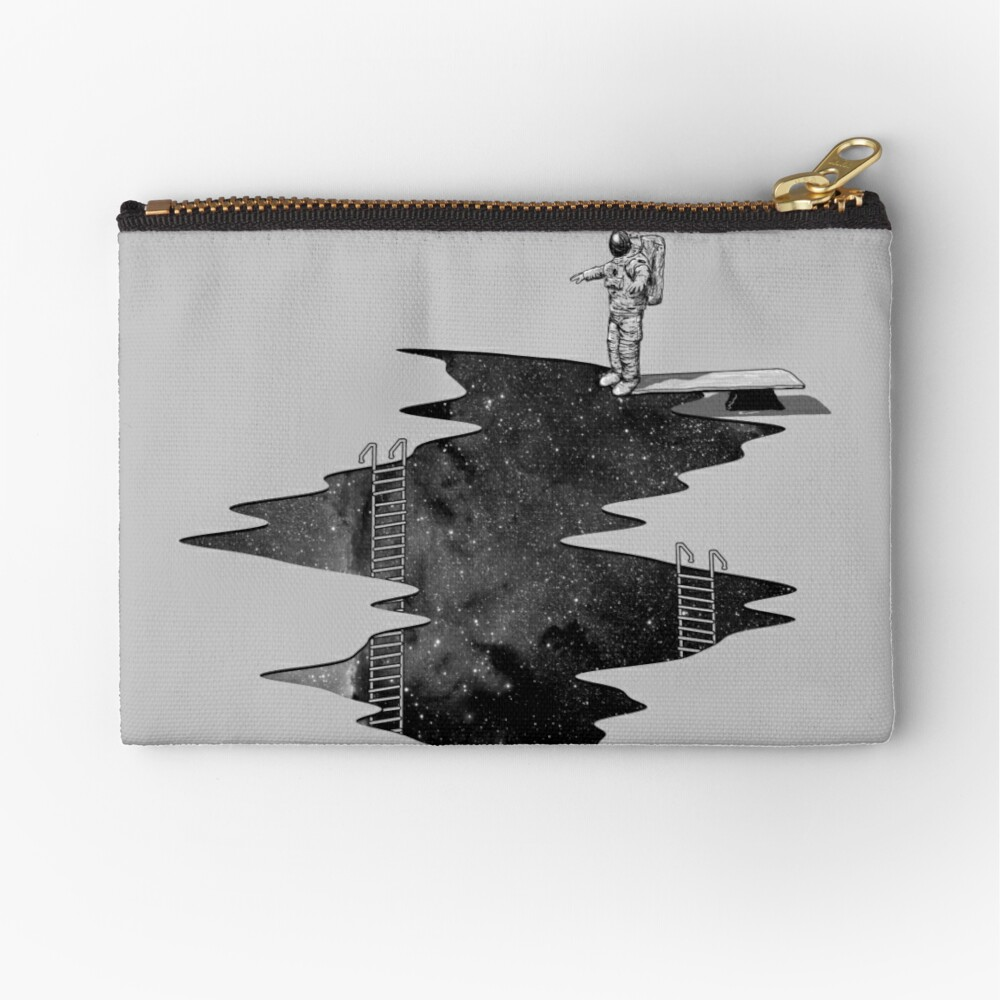 Space Diving Zipper Pouch