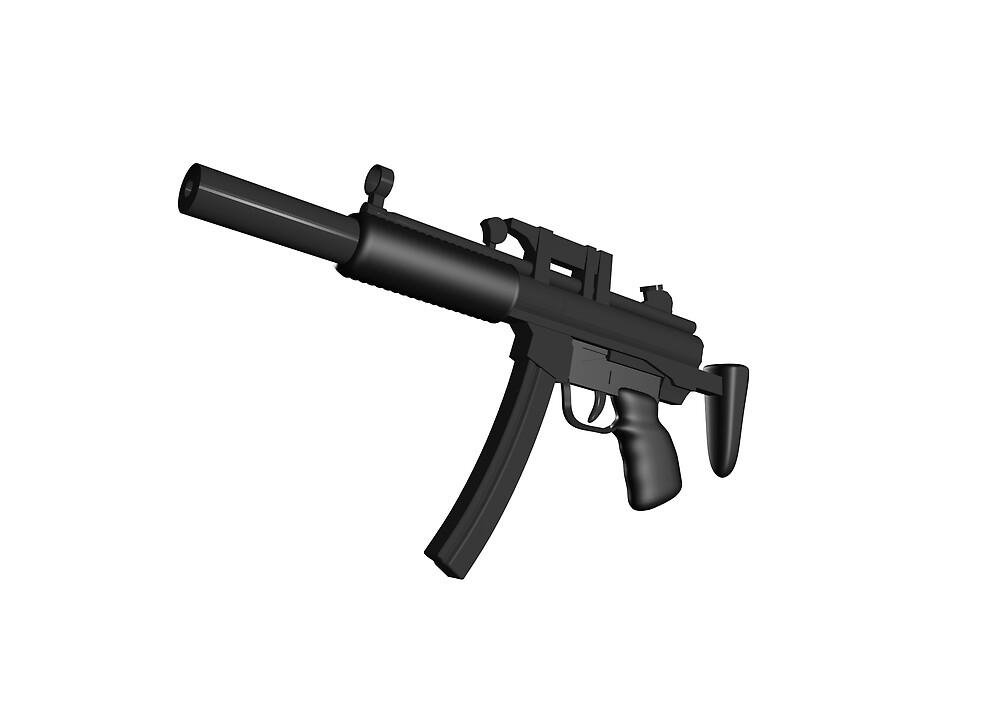 Machine Gun by felixthehat