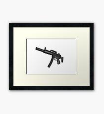 Machine Gun Framed Print