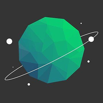Poly Planet by ArtBYMaxJHuston
