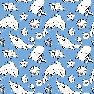Whales in the blue by interruptae